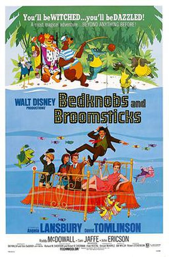 Bedknobs and Broomsticks - Theatrical poster
