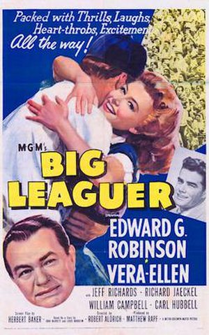 Big Leaguer - Theatrical release poster