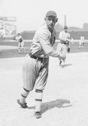 Cleveland Counts - Outfielder Buck Thrasher played all three seasons with the Counts.