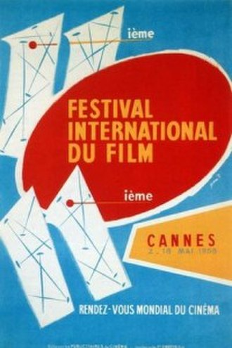1958 Cannes Film Festival - Official poster of the 11th Cannes Film Festival