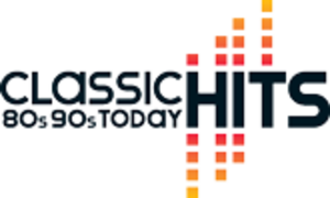 The Hits (radio station) - This Classic Hits logo was used after 2011, with a space for a local frequency.