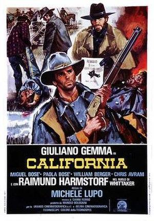 California (1977 film) - Italian theatrical release poster