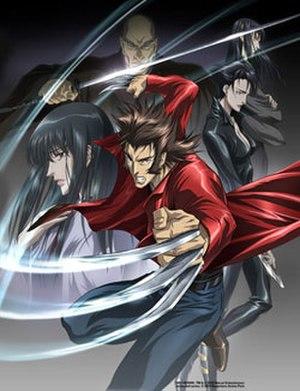 Marvel Anime - Cast of Wolverine, Logan, Mariko Yashida, Shingen Yashida, Kikyo Mikage, and Yukio.