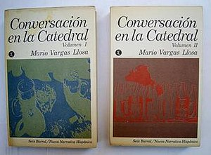 Conversation in the Cathedral - First Spanish edition