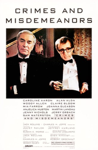 Crimes and Misdemeanors - Theatrical release poster