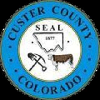 Custer County, Colorado - Image: Custer County, Colorado seal