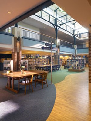 Delaware, Ohio - The Delaware County District Library, funded a bond issue for $4.5 million passed by the voters of Delaware in 1990
