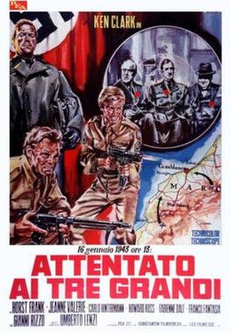 Desert Commandos - Italian film poster