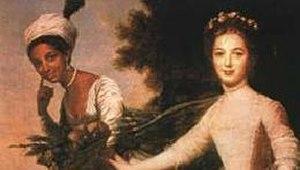 John Lindsay (Royal Navy officer) - Elizabeth Murray and her cousin Dido Elizabeth Belle (left)