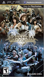 <i>Dissidia 012 Final Fantasy</i> video game