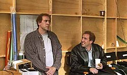 nicolas cage portrays charlie and donald kaufman through