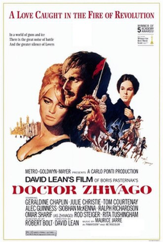 Doctor Zhivago (film) - Theatrical release poster design by Tom Jung