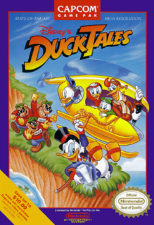<i>DuckTales</i> (video game) 1989 video game