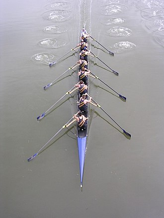 Davis Men's Crew Club - Davis racing Cal in the E3.