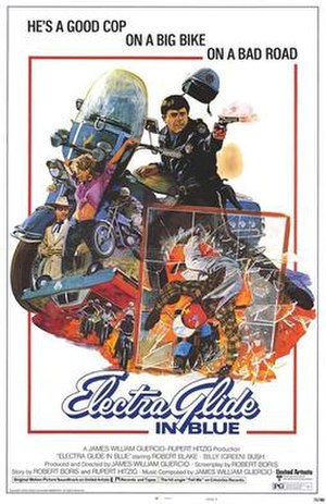 Electra Glide in Blue - Original 1973 film poster