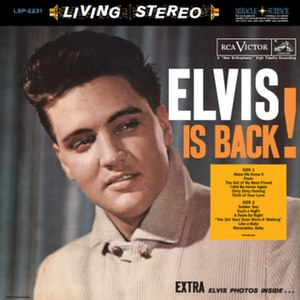 Elvis Is Back! - Image: Elvis is Back!
