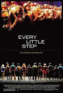<i>Every Little Step</i> (film) 2008 American film directed by James D. SternAdam Del Deo