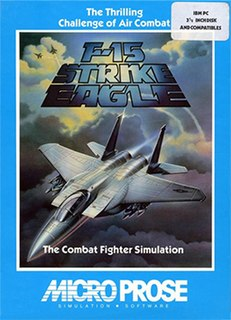 <i>F-15 Strike Eagle</i> (video game) 1985 war video game