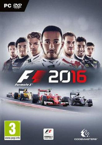 F1 2016 (video game) - Image: F1 2016 Cover