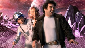 Fat Guy Stuck in Internet - From left to right: Bit (Neil Casey), Byte (Liz Cackowski) and Gemberling (John Gemberling).