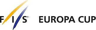 Alpine Skiing Europa Cup - Image: Fis europa cup