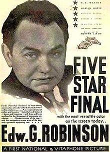 Kvin stelo Finalo 1931 poster.jpg