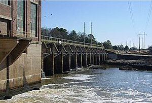 Lake Chehaw - Flint River Dam