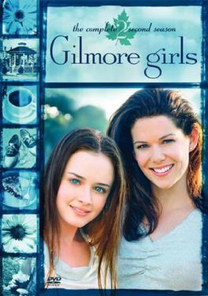 Gilmore Girls (season 2) - Season 2 DVD cover