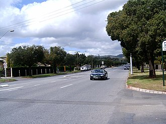 Greenhill Road, Adelaide - Image: Greenhillrd bside