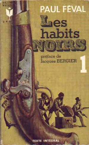 Les Habits Noirs - Cover for a French edition of Les Habits Noirs.