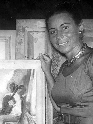 Hannah Tompkins (artist) - Image: Hannah Tompkins 1964