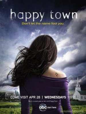 Happy Town (TV series) - Promotional poster
