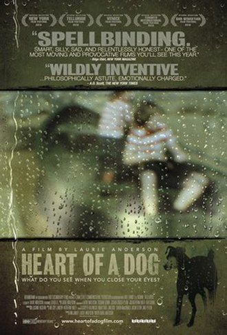 Heart of a Dog (2015 film) - Theatrical release poster