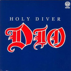 Holy Diver (song) - Image: Holy Diver Single Cover