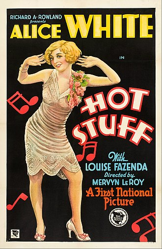 Hot Stuff (1929 film) - Theatrical release poster