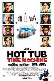 <i>Hot Tub Time Machine</i> 2010 American science fiction adventure comedy film directed by Steve Pink