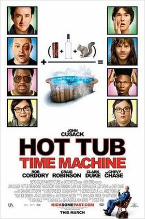 Hot Tub Time Machine - Theatrical release poster