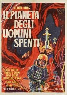 <i>Battle of the Worlds</i> 1961 film by Antonio Margheriti