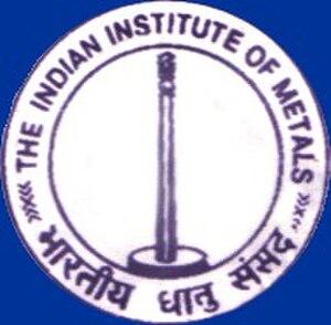 Indian Institute of Metals - IIM Logo