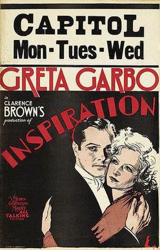 Inspiration (1931 film) - Image: Inspiration (1931 film)