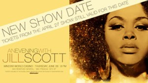 An Evening with Jill Scott - Image: J Ill Scott An Evening With Tour Poster