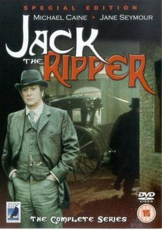 Jack the Ripper (1988 TV series) - DVD cover for Jack the Ripper