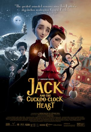 Jack and the Cuckoo-Clock Heart - Theatrical release poster