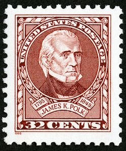 James KPolk 1995 Issue-32c