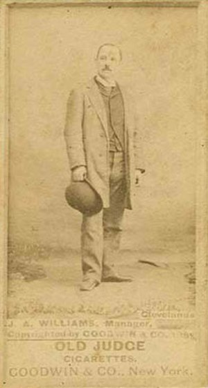 Jimmy Williams (19th-century baseball manager) - Image: Jimmy Williams manager