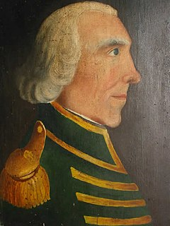 John Butler (pioneer) Loyalist who led an irregular militia unit known as Butlers Rangers on the northern frontier in the American Revolutionary War