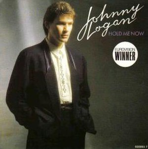 Hold Me Now (Johnny Logan song) - Image: Johnny Logan Hold Me Now