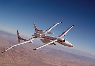Scaled Composites Proteus - Proteus in flight in 2002 in the Department of Energy's Atmospheric Radiation Measurement - Unmanned Aerial Vehicle (ARM-UAV) Program