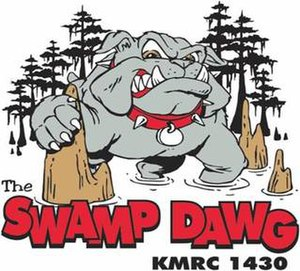 KMRC (AM) - Image: KMRC Swamp Dog 1430 logo