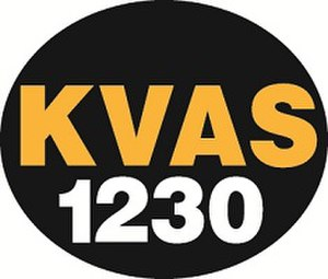 KKOR - Image: KVAS AM 1230 2012 radio logo